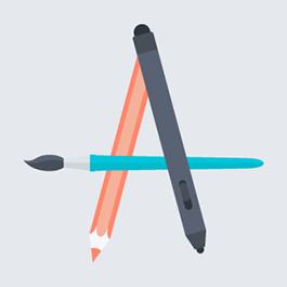 graphic design icon circle